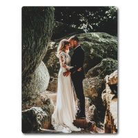 Personalised Wall Mounted Aluminium Photo Print HD Panel - Matte - 400mm x 300mm